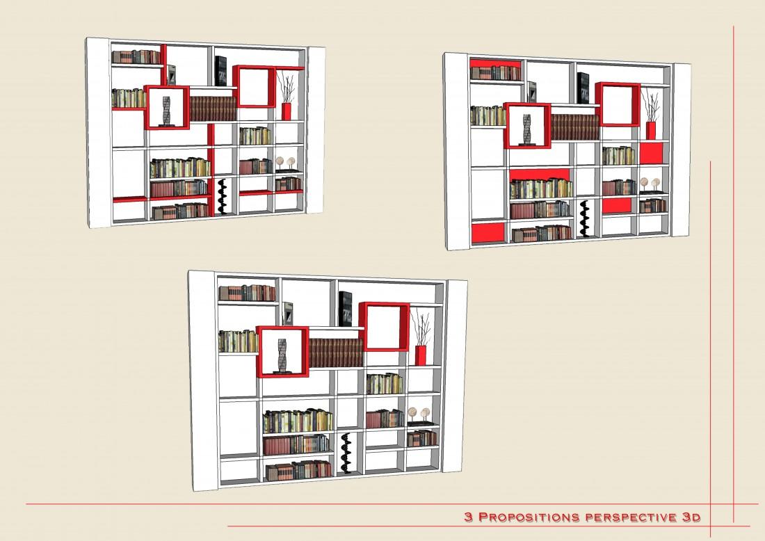 atelier agencement nice côte azur bibliothèque sur mesure