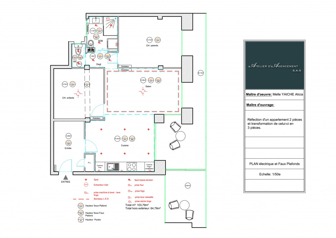 Atelier agencement Nice Côte d'azur appartement